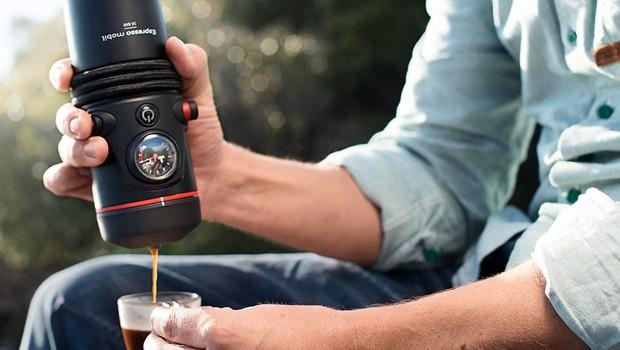 Audi lança máquina de café portátil (Foto: Divulgação)