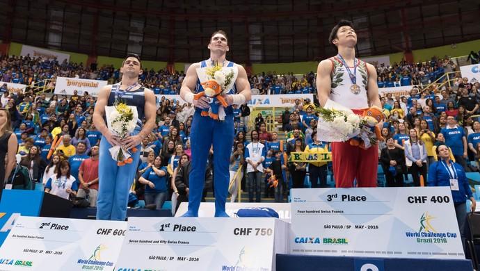 Zanetti ouro argolas copa do mundo de ginástica sp (Foto: Vini Marins)