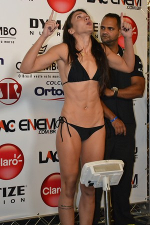 Amanda Ribas Jungle Fight MMA (Foto: Raphael Marinho)