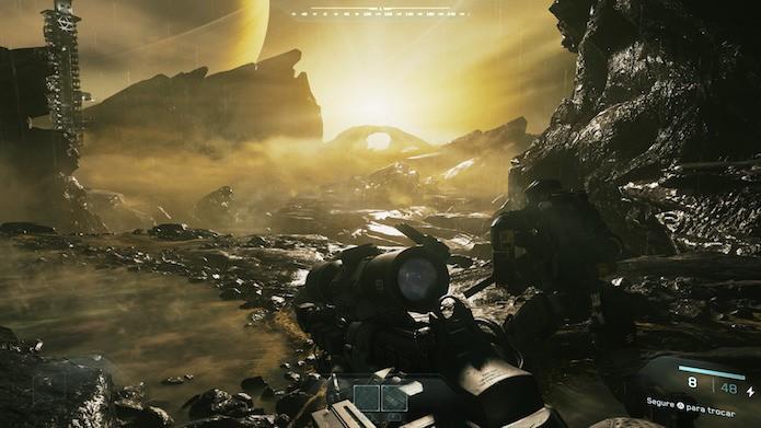 Call of Duty: Infinite Warfare: como desbloquear armas clássicas (Foto: Reprodução/Victor Teixeira)