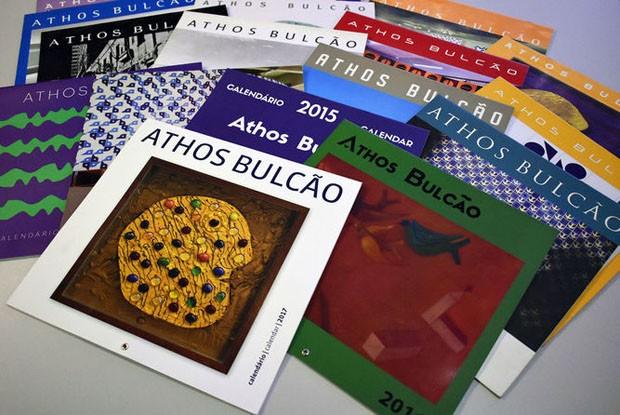 Financiamento coletivo viabiliza calendário ilustrado por Athos Bulcão  (Foto: Divulgação)