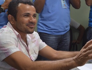 Josivaldo Alves, presidente do CSP (Foto: Amauri Aquino / GloboEsporte.com/pb)