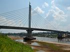 Rio Juruá está com 2,56 m e registra menor cota dos últimos cinco anos