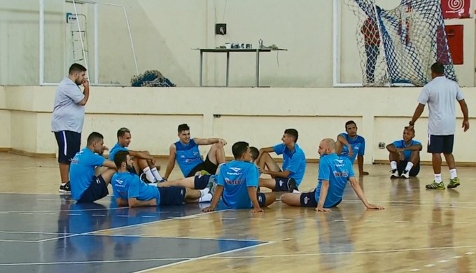 Ex-Orlândia, Paraíso Futsal inicia treinamentos em São Sebastião do Paraíso (Foto: Reprodução EPTV)