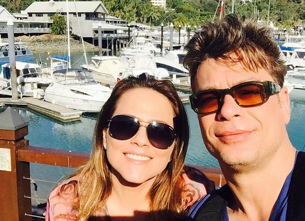 Vivianne Pasmanter e Fábio Assunção estão na Austrália para gravar novela (Foto: Reprodução/Instagram)