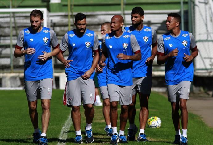 Jogadores treino Fluminense (Foto: Nelson Perez / Fluminense F.C.)