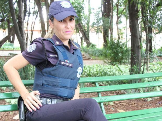 Concurso no Facebook elegeu araraquarense a mais bela guarda municipal do Brasil Araraquara (Foto: Paulo Mantoanelli/Prefeitura de Araraquara)