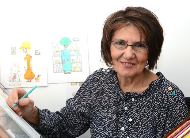 Em sua nova obra, Eva Furnari fala sobre a família  (Foto: Laura Furnari)