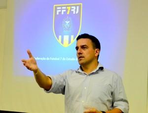Marcio Carrete, presidente da Federação de Futebol de 7 RJ (Foto: Joaquim Azevedo/Jornal F7)