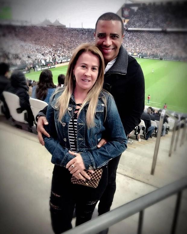 Zilú Camargo e Marco Antônio Telles (Foto: Reprodução/Instagram)