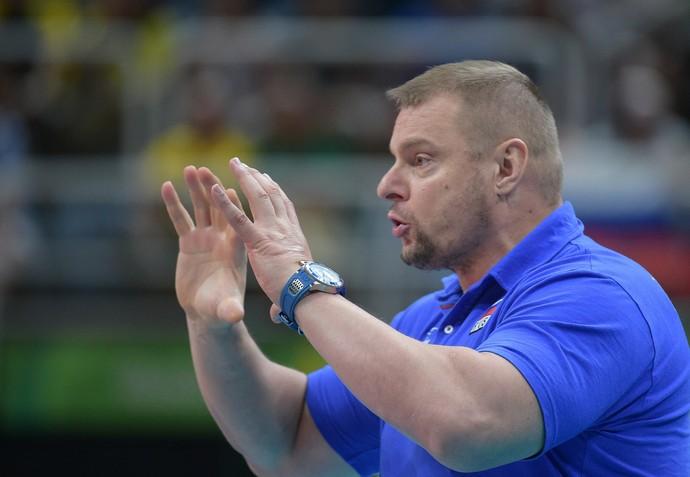 Vladimir Alekno técnico Rússia vôlei (Foto: Divulgação FIVB)