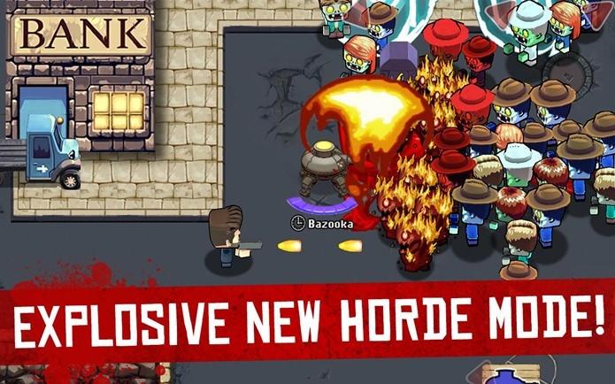Nova versão de Age of Zombies tem novos gráficos, novas missões pelo tempo e espaço (Fotos: Divulgação)