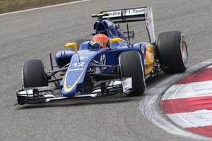 Felipe Nasr no segundo treino livre do GP da China (Foto: Divulgação)