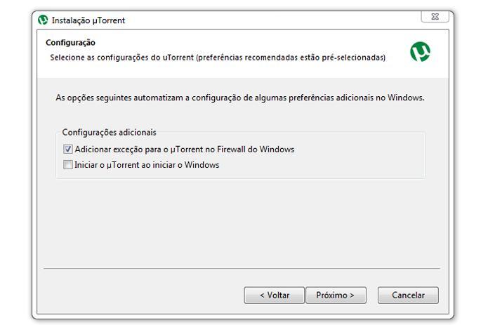Instalação do uTorrent no computador (Foto: Reprodução/Ramon Cardoso)