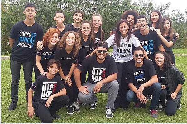 Grupo de Hip Hop de Resende vai se apresentar em Festival Internacional em Curitiba (Foto: Dalila Lemos)