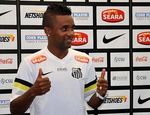 Cicinho, lateral-direito do Santos (Foto: Ivan Storti/Divulgação Santos FC)