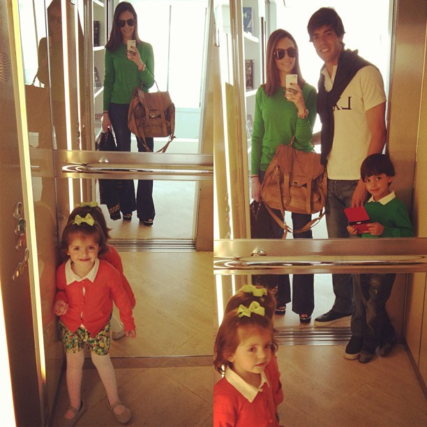 Carol Celico, Kaká e filhos (Foto: Instagram / Reprodução)