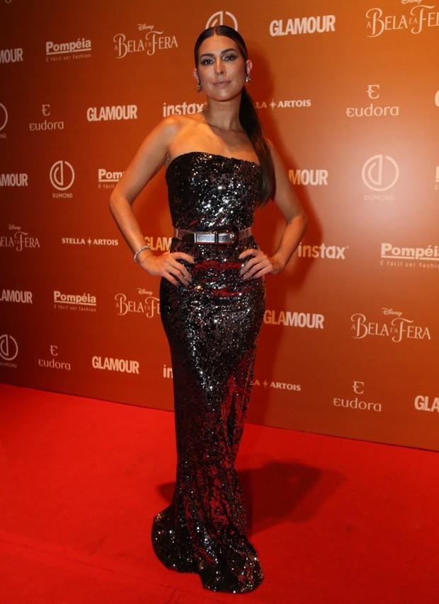 Fernanda Paes Leme apresenta o Prmio Gerao Glamour no Canal GNT (Foto: Eduardo Viana)