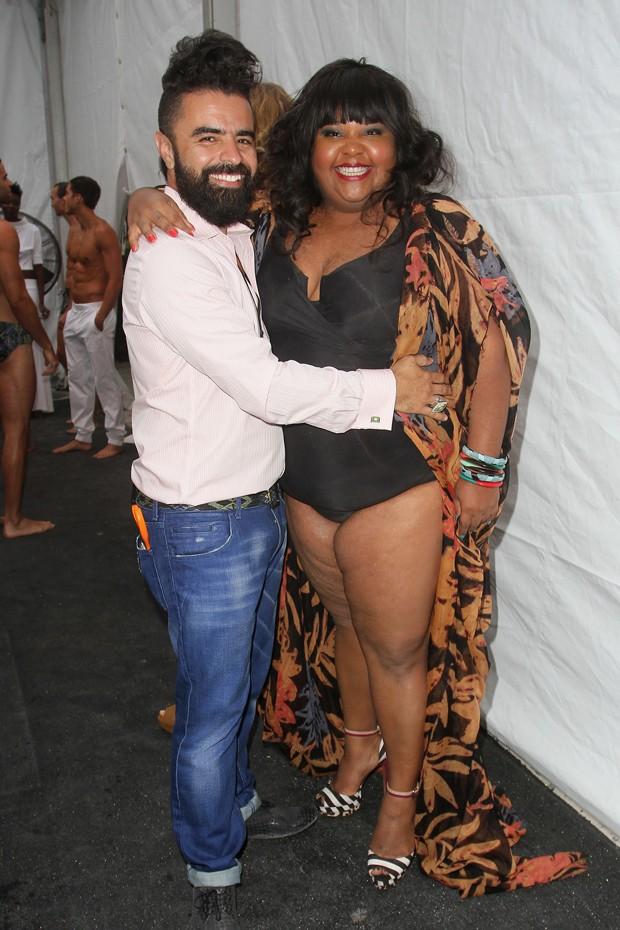 Priscilla Marinho e A.Z. Araujo (Foto: Getty Images)