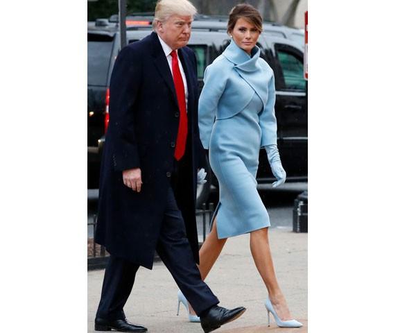 Donald Tump e Melania Trump (Foto: Glow Images)