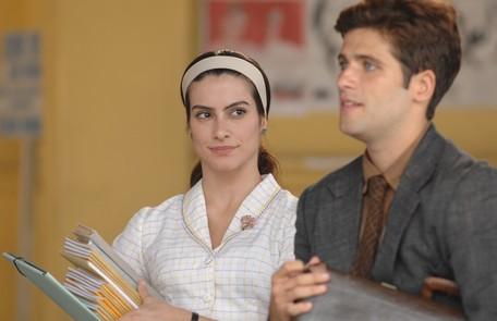 Com Cleo Pires, em 'Ciranda de pedra' (2008), como Eduardo TV Globo
