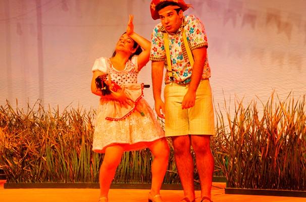 O musical infantil retrata a infância e o primeiro amor do Rei do Baião (Foto: Divulgação)