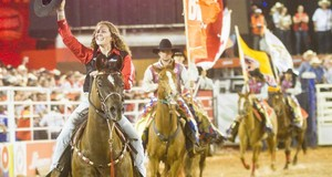 Rafaela Fenley leva Três Tambores na arena (Alfredo Risk)
