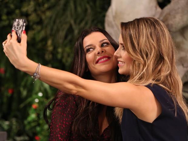 Sandy e Fernanda Souza (Foto: Ana Luisa Marzano / Multishow)