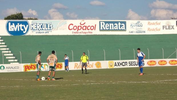 Jogo-treino entre Mirassol e Olímpia (Foto: Vinicius de Paula/Mirassol)