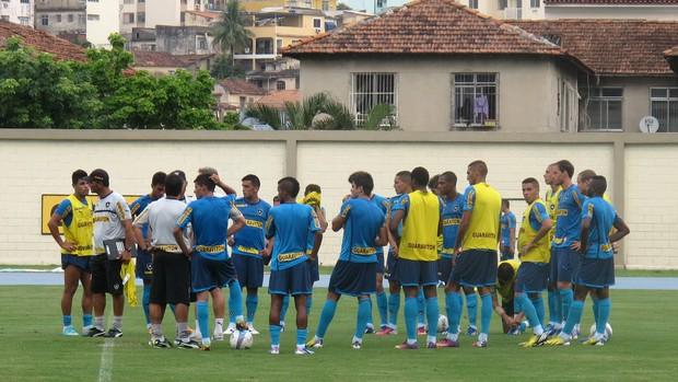 Treino Botafogo (Foto: Fred Huber)