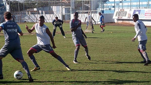 Treino dos reservas do Marília para a Copa Paulista (Foto: Divulgação/Marília)