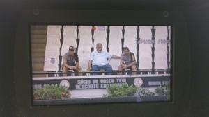 Eurico Miranda, Jorginho e Zinho Vasco (Foto: Raphael Zarko / GloboEsporte.com)