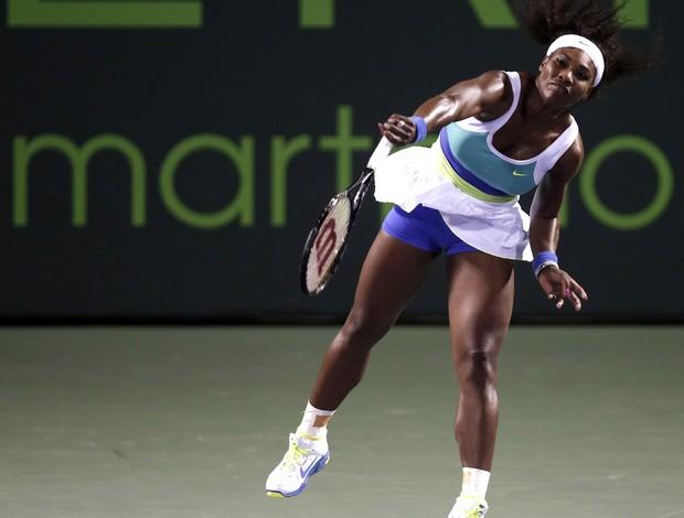 Serena Williams terceira rodada miami (Foto: Reuters)