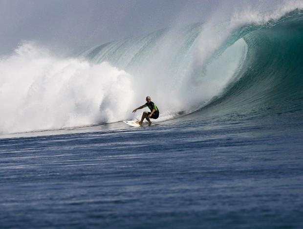 Kelly Slater na Indonésia em 2008 (Foto: Getty)