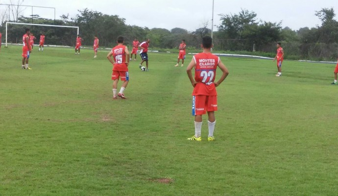 Treino do time sub-17 da Funorte.  (Foto: Funorte/Divulgação )