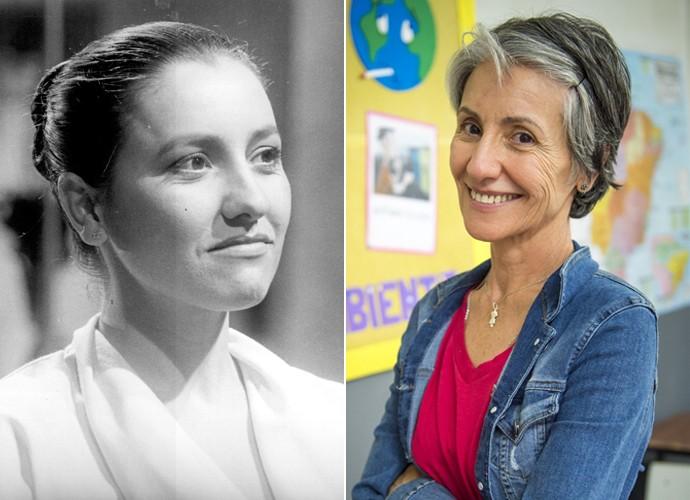 Na novela 'Livre para Voar', de 1984, Cassia Kis deu vida à personagem Verona. Trinta e um anos depois, a atriz vai viver a mulher de fibra Djanira (Foto: CEDOC / Koão Cotta / TV Globo)