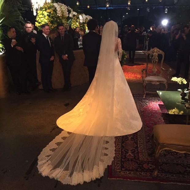 Detalhe do vestido de Antônia Fontenelle (Foto: Reprodução/Instagram)