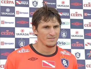 Mauro foi a última contratação do Remo para a estreia no Parazão (Foto: Marcelo Seabra/O Liberal)