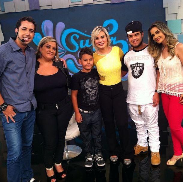 Andressa Urach e família (Foto: Instagram/Reprodução)