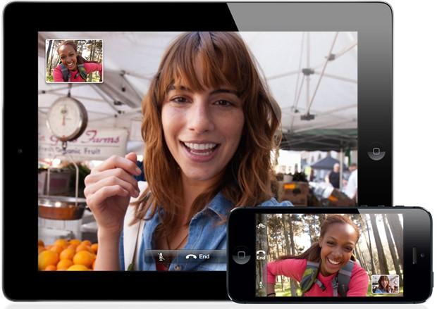 FaceTime, que permite a realização de videoconferências (Foto: Reprodução)