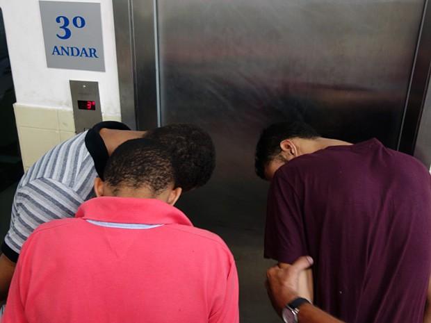 Trio foi preso na sexta-feira (7) (Foto: Egi Santana/G1)