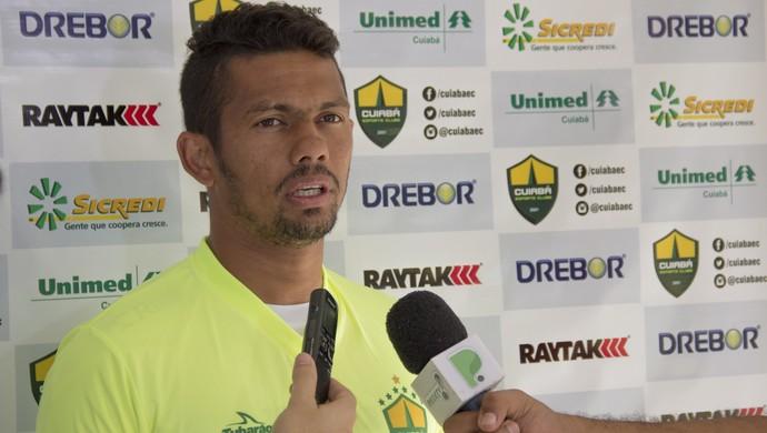 Nino Guerreiro, atacante, Cuiabá (Foto: Assessoria/Cuiabá Esporte Clube)