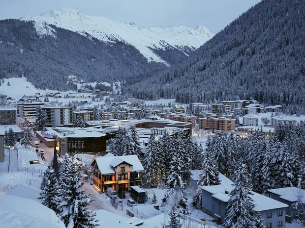 Davos receberá mais uma edição do Fórum Econômico Mundial, entre os dias 20 e 23 (Foto: Ruben Sprich / Reuters)