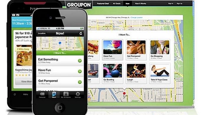 Aplicativo Groupon (Foto: Divulgação/Groupon)