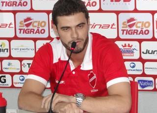 Ariel Mamede, técnico do sub-20 do Vila Nova (Foto: Comunicação/Vila Nova)