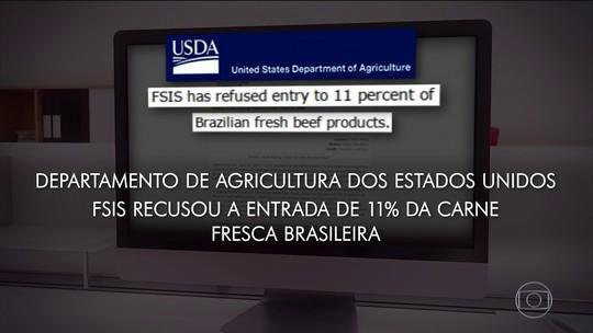 Ministro da Agricultura teme novos bloqueios após EUA suspenderem compra de carne brasileira
