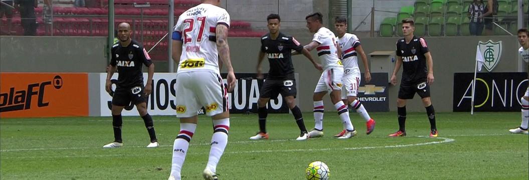 Melhores momentos: Atlético-MG 1 x 2 São Paulo