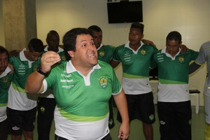Treinador Fernando Marchiori, Cuiabá (Foto: Pedro Lima/Assessoria Cuiabá Esporte Clube)