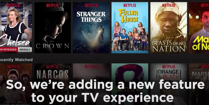 Para a Netflix, é importante ajudar o usuário a escolher (Foto: Reprodução/Felipe Vinha)