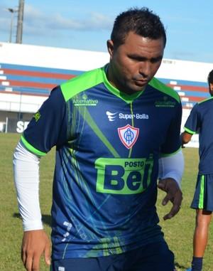 Treino Itabaiana (Foto: Felipe Martins / GLOBOESPORTE.COM)